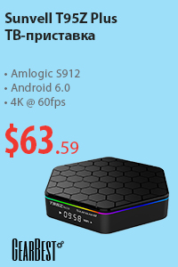 Sunvell T95Z Plus TV Box Amlogic S912 Octa Core