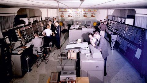Терминал первой системы национальной ПВО США – SAGE (Semi-Automatic Ground Environment)